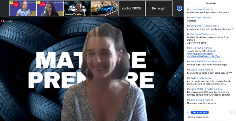Live métier—Audiovisuel