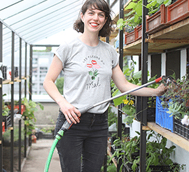 La parole à… Loubliana Petroff, Agricultrice Urbaine chez Pépins Production