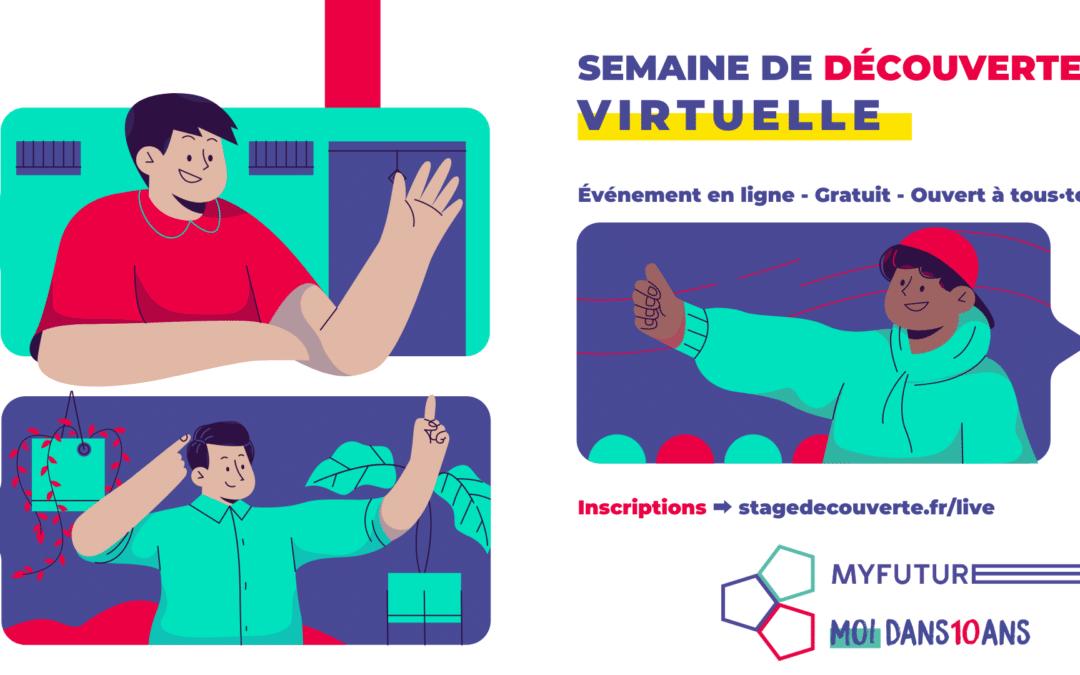 Stage 3ème facultatif : Lancement d'une semaine de découverte 100% virtuelle
